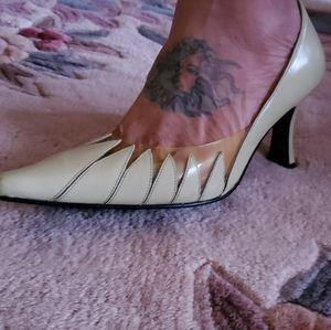 Bellini heels in lime